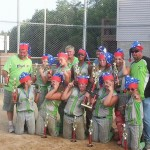 SIZZLER 14U CHAMPS! LOVE THE SANTA HATS !