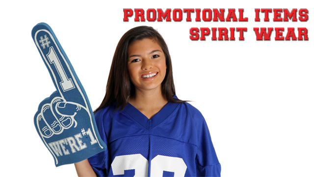 Promotional Items & Spirit Wear